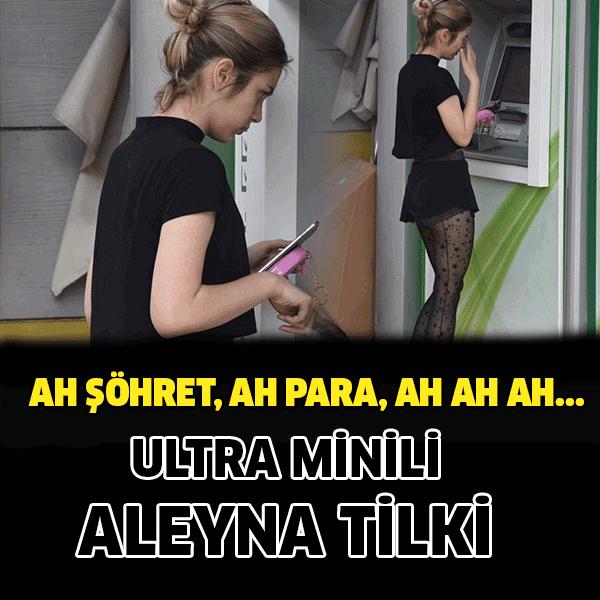 Aleyna Tilki ultra mini şortuyla görenlerin dikkatini çekti Son zamanlarda yaşadığı polemiklerle ve sansasyonel olaylarla magazin gündeminden düşmeyen Aleyna Tilki, önceki gün Bebek'te objektiflere takıldı.