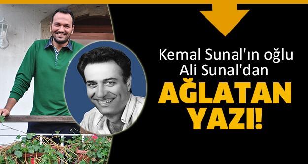 Kemal Sunal 11 Kasım 1944'de doğdu. Bu özel günde sevenleri ünlü oyuncuyla ilgili sosyal medyada birçok paylaşım yaptı ama oğlu Ali Sunal'ın Instagram'da yazdığı not okuyan herkesi duygulandırdı. 11 Kasım 2014 Ağlatan Kemal Sunal yazısı..