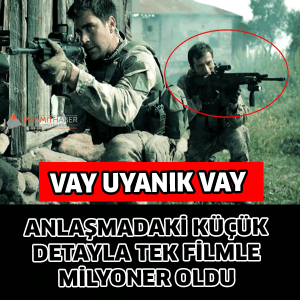 Dağ 2 filmi, ücretini gişe üzerinden alacak olan Ufuk Bayraktar'a 1 milyon TL'ye yakın gelir sağladı.