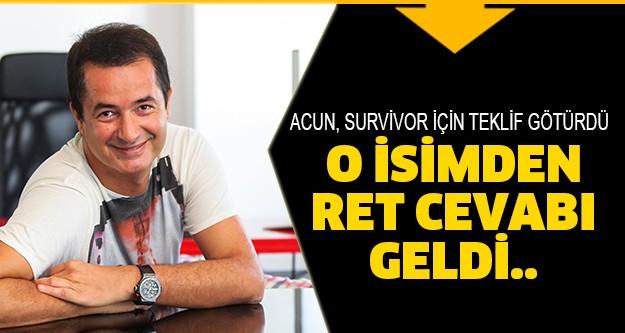 Acun Ilıcalı, Survivor yarışması için Asena'ya teklif götürdü.