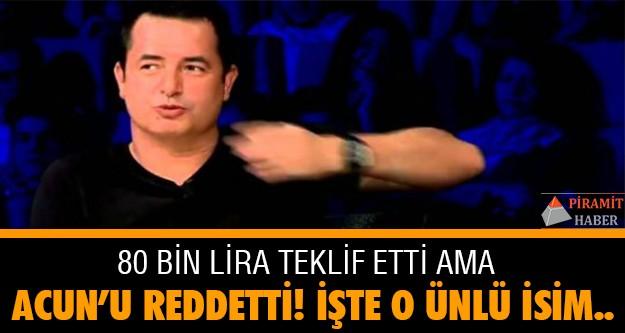 Acun, yeni yarışmasında jüri koltuğunda oturması için  haftalık 80 bin lira teklif etti ancak olumlu cevap alamadı.  Demet Akalın ve Mustafa Sandal 40 bin TL alacak.