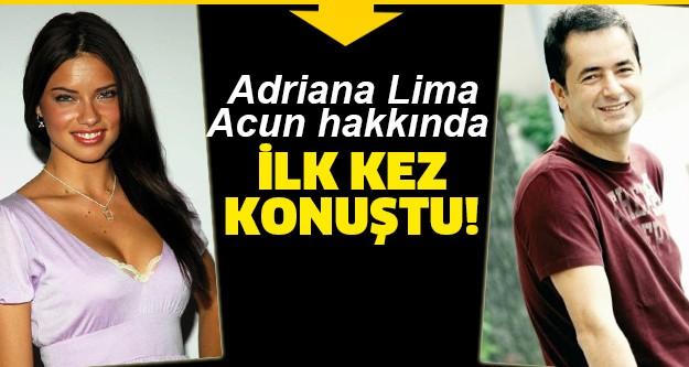 Acun Ilıcalı'nın dünyaca ünlü model Adriana Lima ile aşk yaşadığı hatta evleneceği haberleri gündeme bomba gibi düşmüştü. Konuyla ilgili birçok haber yapılmış sosyal medyada olay olmuştu. Acun cephesinden bu dedikodulara cevap gelmese de Adriana Lima konuya açıkllık getirdi.