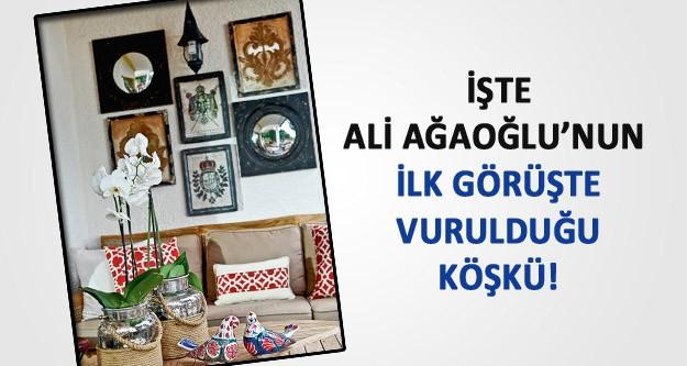 İşte Ali Ağaoğlu'nun muhteşem köşkü...