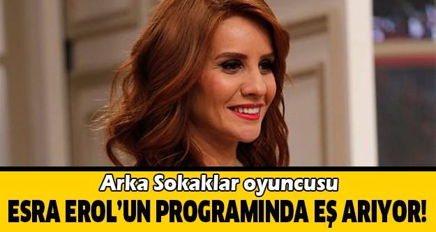 Kanal D'de 9 yıldır yayınlanan Arka Sokaklar dizisinde Vedat müdür olarak rol alan Murat Ormıyak da televizyondan talibini aramaya başladı.