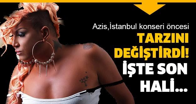 Gerek farklı giyim tarzı gerek sesiyle ünü tüm dünyaya yayılan Bulgar Popçu Azis, İstanbul konseri öncesinde radikal bir kararla tarzını değiştirdi.