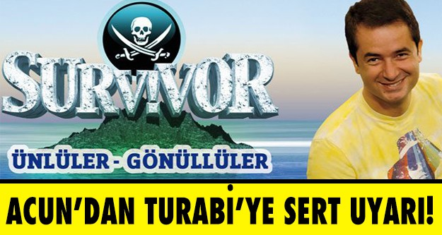 Survivor Ada Konseyi'nde Acun Ilıcalı, Turabi'yi sert bir şekilde uyardı.