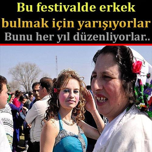 Bu festival Bulgaristan'da her yıl düzenleniyor...