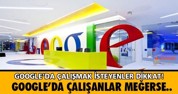 Google'ın eğlenceli ofislerinde çalışmak için sahip olmanız gereken yetenekleri biliyor musunuz?