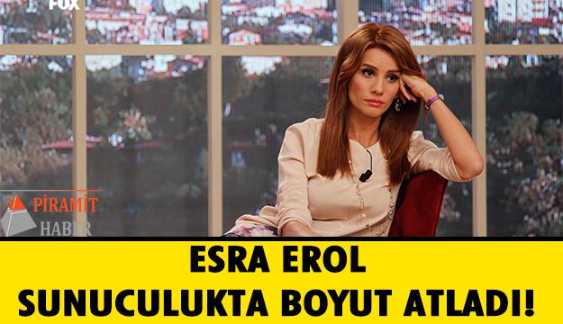 Esra Erol, Fox TV'de yayınlanan evlilik programı ile gündüz kuşağının en çok izlenen yapımını sunuyordu.