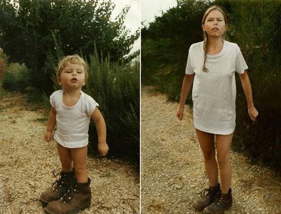 Arjantinli fotoğrafçı Irina Werning, çocukluk fotoğraflarının aynısını aynı kıyafetler ve mekanlar ile yeniden çekiyor. Ortaya çıkan eserler ise gerçekten zaman makinesine binmiş etkisi yaratıyor. Belki de bu yüzden Irina Werning çalışmalarına ''Back To The Future'' yani Geleceğe Dönüş ismini vermiş. İşte O fotoğraflar...: Cecile 1987 & 2010