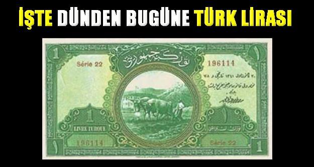 Tarihteki yolculuğuna 5 Aralık 1927 tarihinde çıkan TL, Latin harfleriyle ilk kez 1937 yılında basıldı. İşte 1 TL'den 20.000.000 TL'ye, dünden bugüne Türk lirası...