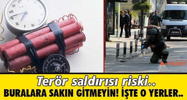 İSTANBUL Emniyeti'nden polis teşkilatına gönderdiği terör uyarısı endişe yarattı.