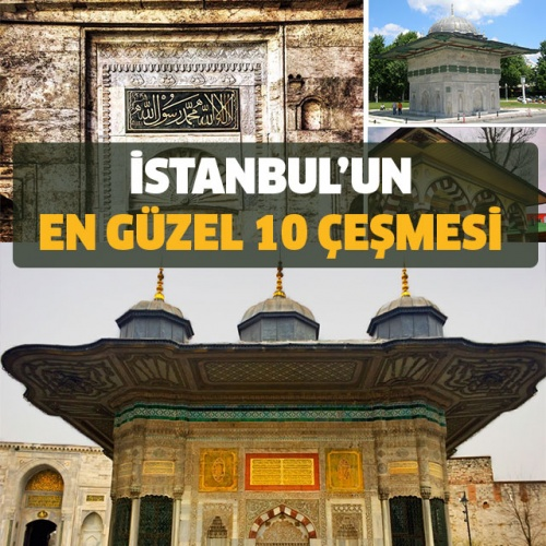 Birçok farklı medeniyete ev sahipliği yapan İstanbul, geçmişten bugüne tarihi çeşmeleriyle de oldukça ünlü. Özellikle 1453'te kentin fethinden sonra, Türk uygarlıklarının suya verdiği önem şahane bir mimariyle birleşmiş ve herbiri birer sanat eseri olan çeşmeler tüm İstanbul'u kaplamış. Ne yazık ki günümüze kalanlar pek az. İşte tüm tarihi dokusu ve görkemiyle İstanbul'un tarihe şahitlik eden yaşayan çeşmeleri..