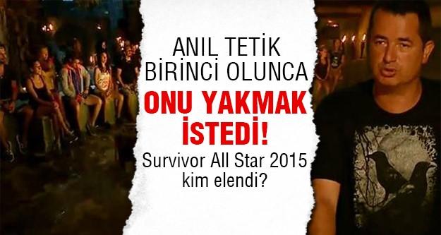 Survivor'da kim elendi açıklandı. Acun Ilıcalı 'nın Survivor All Star 2015 kadrosunda bu hafta Merve Oflaz ve Fulya Keskin elenmek üzere yazıldı. Peki Survivor All Star kim elendi?