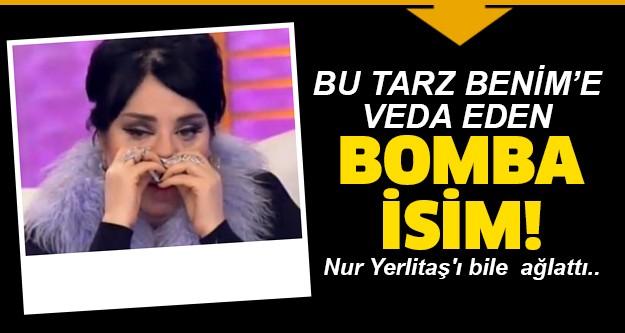 Bu Tarz Benim 6 Kasım eleme gecesinde kim elendi belli oldu. Bu Tarz Benim haftanın finalinde elenen isim Nur Yerlitaş'ı ağlattı.