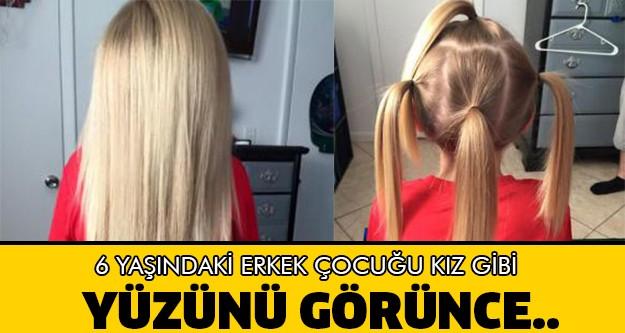6 Yaşındaki Erkek Çocuğu Saçlarını Kız Gibi Uzatıyor Çünkü ..