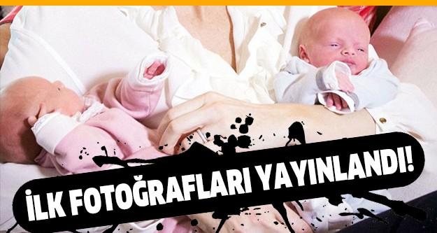Monako Prensi 2'nci Albert ve eşi Prenses Charlene'in 10 Aralık'ta dünyaya gelen ikiz bebeklerinin fotoğrafları yayınlandı.