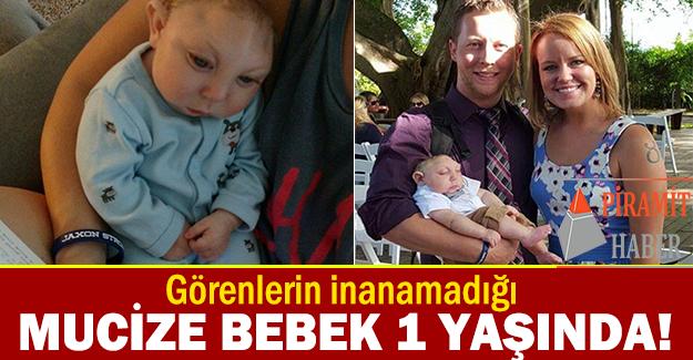 2014 yılının Ağustos ayında ABD'de dünyaya gelen Jaxon Emmett Buell isimli bebek artık 1 yaşında.