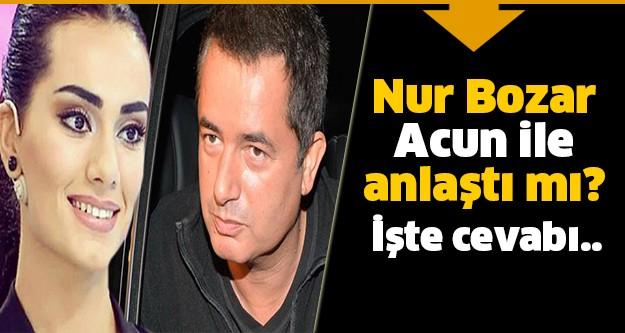 'Bu Tarz Benim'den olaylı şekilde elenen yarışmacı Nur Bozar, Ilıcalı'nın kanalı TV8'de çalışacağı haberlerini Instagram sayfasından yaptığı açıklama ile yalanladı.