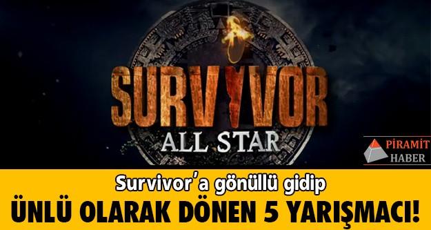 Survivor'a gönüllü olarak katılıp, adadan sonra kendilerini spotların altında bulanların sayısı hiç de az değil. Aralarında Türkiye'nin ilk Survivor şampiyonu olan Uğur Pektaş'ın da olduğu, gönüllülükten ünlülüğe giden bu yola hızlı giriş yapmış 5 Survivor yarışmacısını N'oluyo.tv'den Murat Karaca mercek altına aldı.