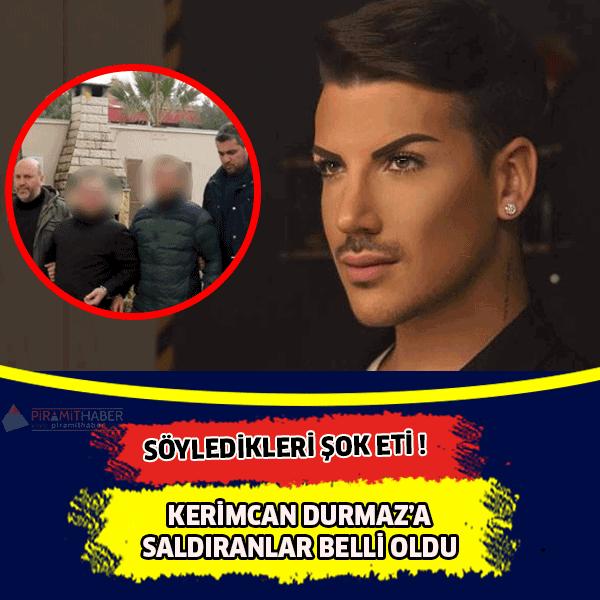 Samsun'a konser için gelen şarkıcı ve sosyal medya fenomeni Kerimcan Durmaz'a saldırdıkları iddia edilen 4 şüpheli bugün polise giderek teslim oldu.