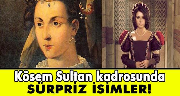 Eylül ayında Star TV ekranlarında yayınlanmaya başlayacak olan Muhteşem Yüzyıl'ın yapımcısı TIMS'ın yeni Osmanlı dizisi Kösem Sultan'a yeni oyuncular katıldı.