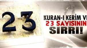 23 Sayısı ve Kuran-ı Kerim'deki Yeri