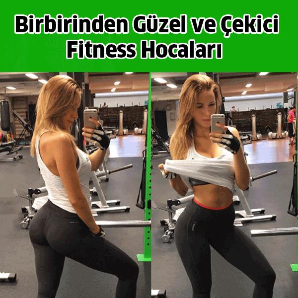 Güzel ve Çekici Fitness Hocaları