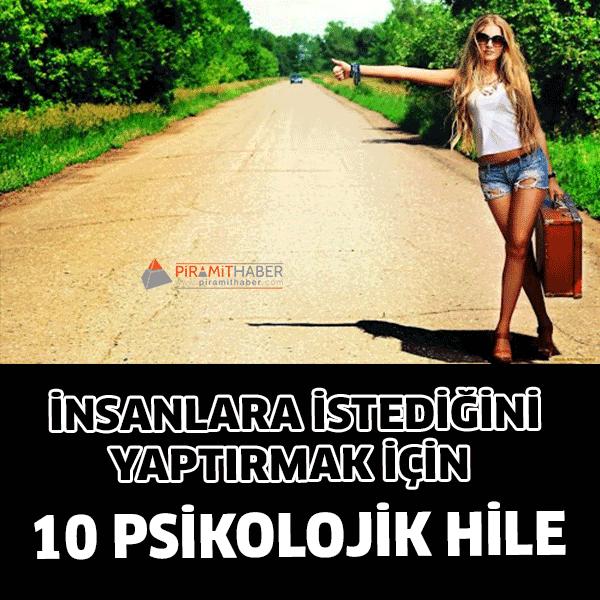 Kullanabileceğiniz 10 Psikolojik taktik