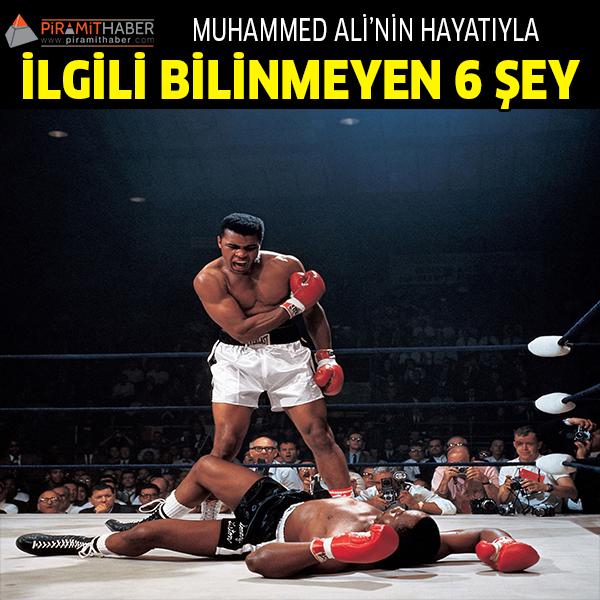 Muhammed Ali'nin bilinmeyen 6 şeyi