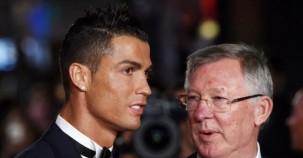 Ronaldo oğluyla film galasına katıldı
