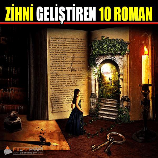 Zihni Geliştiren 10 Roman
