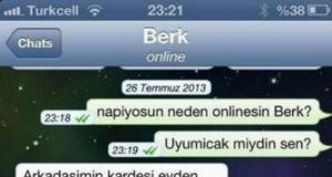 Akıllara Zarar 10 Whatsapp Diyalog