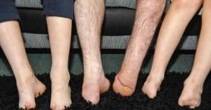 Ayakları yok ama...