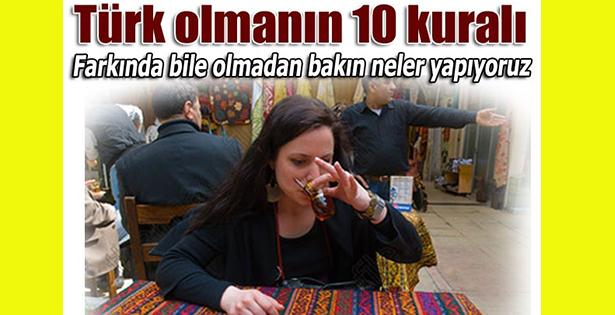 Bunları yapmayan kaç Türk var?