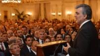 Cumhurbaşkanı Gül'ün veda resepsiyonu