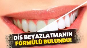 Diş beyazlatmanın 6 formülü