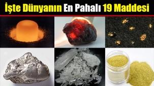 Dünyanın en değerli madenleri!
