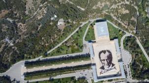 En büyük Atatürk portresi