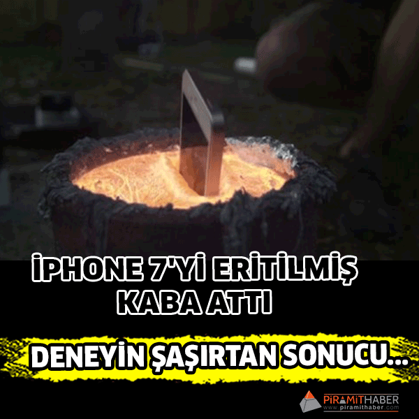 iPhone 7'ye sıradışı test