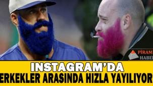 İnstagram'da son trend: Rengarenk sakallar