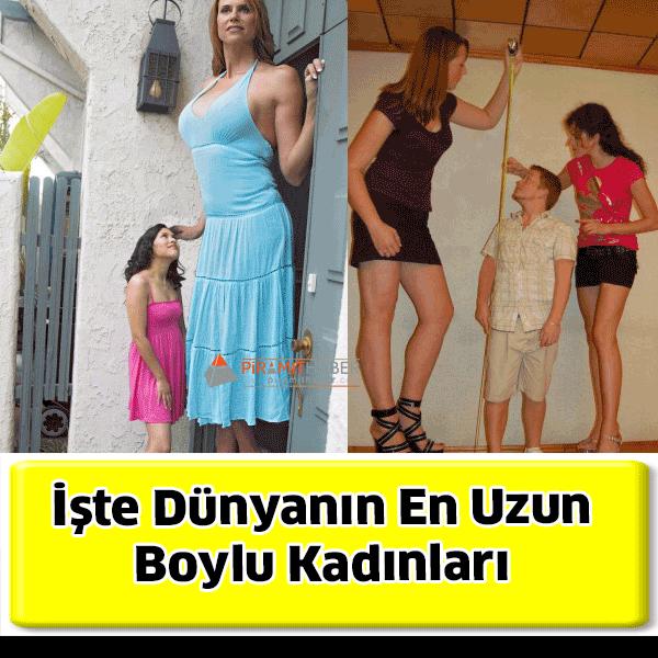 İşte Dünyanın En Uzun Boylu Kadınları