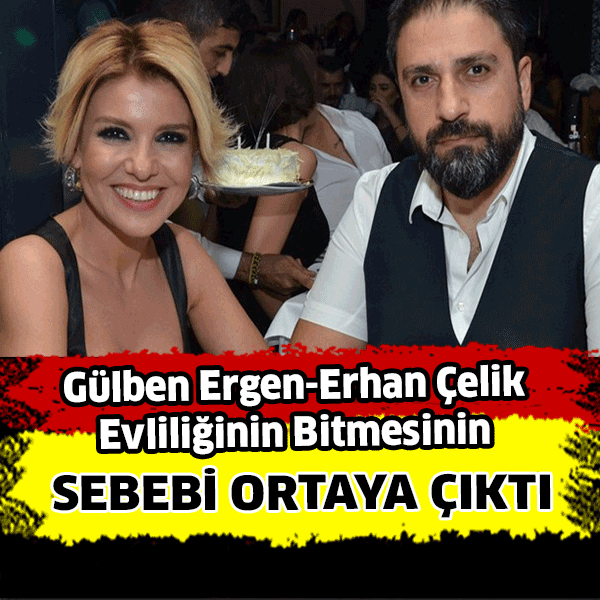 İşte Gülben Ergen'in evliliğinin bitme sebebi