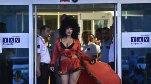Lady Gaga İstanbul'a geldi