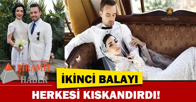 Murat Dalkılıç ve Merve Boluğur ikinci balayı!