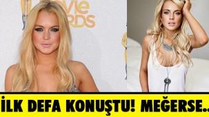 Müslüman olduğu iddia edilen Lindsay Lohan'dan ilk açıklama