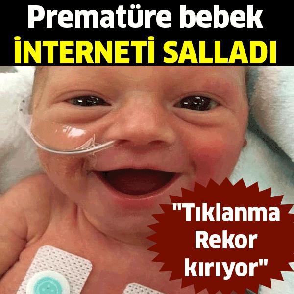 Prematüre bebek tıklanma Rekor kırıyor