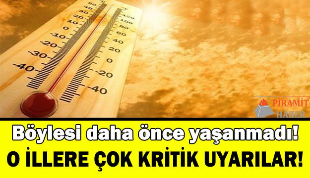 Yarın sıcaklık rekor kıracak!