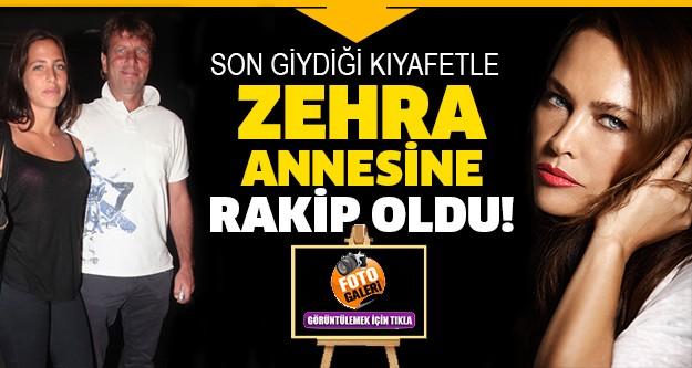 Hülya Avşar ve Kaya Çilingiroğlu'nun kızları Zehra, önceki akşam 1841 Tünel'in yeni yıl partisine katıldı.