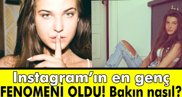 16 yaşında instagram fenomeni oldu!